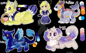 [CLOSED] adoptable batch 02 by Whizavy