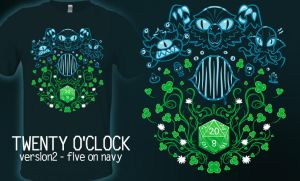 Twenty o'clock - t-shirt by InfinityWave