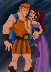 Meg and Herc by MusashiChan