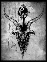 Baphomet by MalachiDesigns