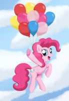 Pinkie Fly by Mel-Rosey