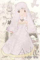 Ashe-chibiness in wedding dres by SingerYuna