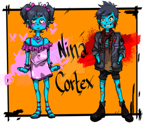 Fake girly teen and real Punk by Loukho