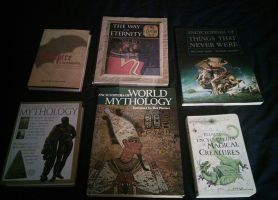 A few mythology books by Android-shooter