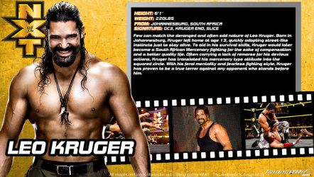 WWE Leo Kruger ID Wallpaper Widescreen by Timetravel6000v2