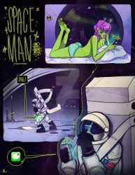 SpaceMan - Page 1 by MsRaggaMuffin