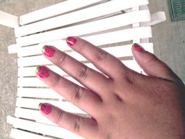 Watermelon nails by Catsie95