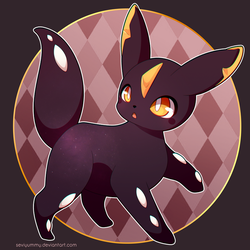 [AUCTION: CLOSED] Adoptable Umbreon by SeviYummy