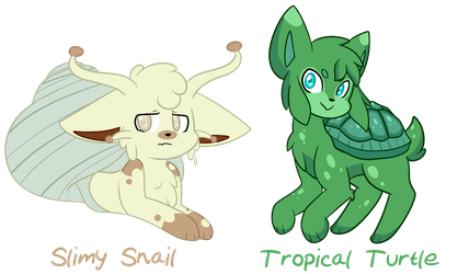 [CLOSED] Ocean Dweller Adopts [AUCTION] by x-SpookyBoo-x