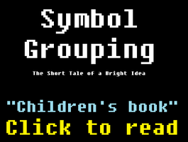 Symbol Grouping: The Short Tale of a Bright Idea by RyanSilberman