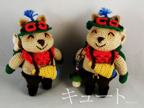 Teemo twins  league of legends and mushroom by pink-butterfly-crack