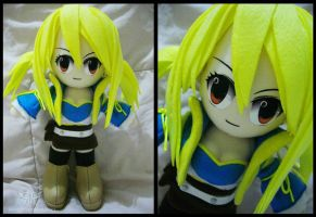 Lucy Heartfillia Plushie by renealexa-plushie