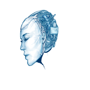 WIP Robotic Head by Samoubica