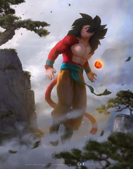 Son Goku by artofjosevega