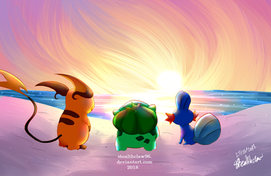 Pokemon Anniversary 2018 by stealthclaw96