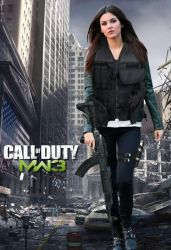Victoria Justice MW3 Poster by Encore2012