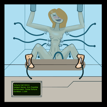 Kim Possible Tickle-Torture (uncensored) by cerber123