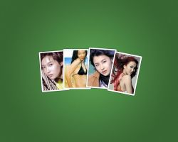 Chinese Female Stars by snowolfzzcn