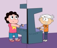 Time for Playing 01 (Steven and Lincoln) by 04StartyCornOnline88