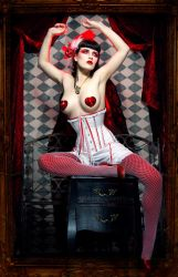 Our Lady of Scarlet by silvergrey