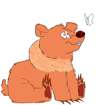 its a bear by InvaderMouse