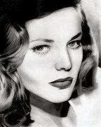 The Look - Lauren Bacall by Stanbos