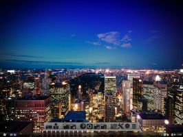 Lower Manhattan 2010 by YoungEaE