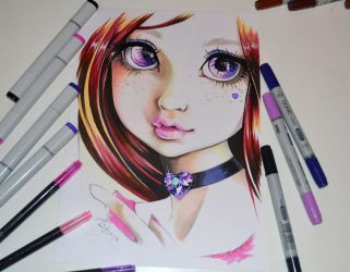 Sarah - aka Lady Amethyst by Lighane