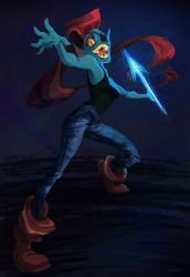 Undyne by curry23