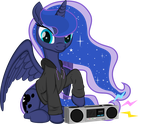 Luna with hoodie by rtry