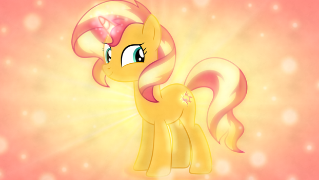 Sunset Shimmer Wallpaper 3 by SailorTrekkie92