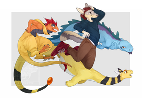 comm - love this crew by CoryKatze