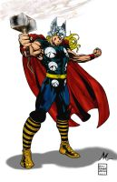THOR by drewjohnson color by Mich974
