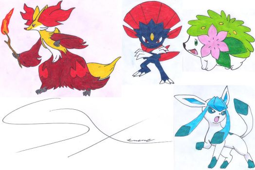 My next drawings 8 (Mis siguientes dibujos 8) by Silverxtreme56