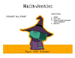 Halloweenies - Witch by toonbaboon