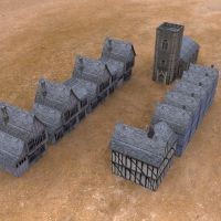 Medieval Buildings 3 by VanishingPointInc