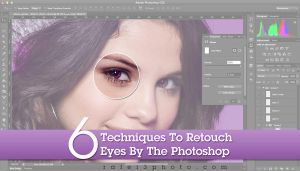 6 techniques to retouch eyes by the photoshop by OmarAziz