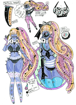 Tentacle Sushi Xynthii- CLOSED adopt by Guppie-Vibes