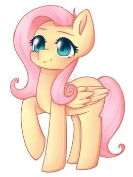 Fluttershy~ by AnikaSpace