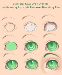 New Eye Tutorial by Eineko