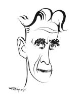 George Orwell by wooden-horse