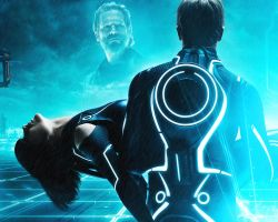 Tron: Legacy. Sam and Quorra by StalkerAE