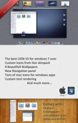 Lion Visual Style For Windows 7 by XPNG by vhaaan
