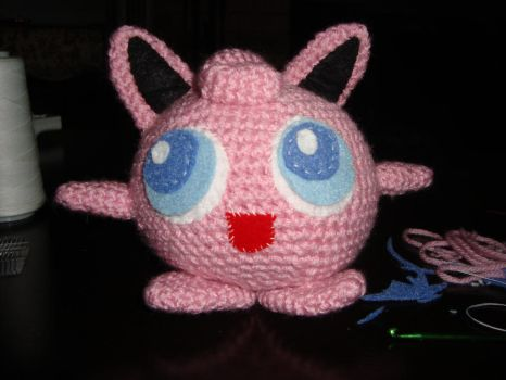 Jigglypuff by laurencrochets
