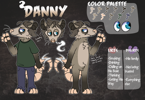 [Commission] Danny Ref by DeathbyUFO