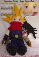 KH Cloud Strife Doll by zarry
