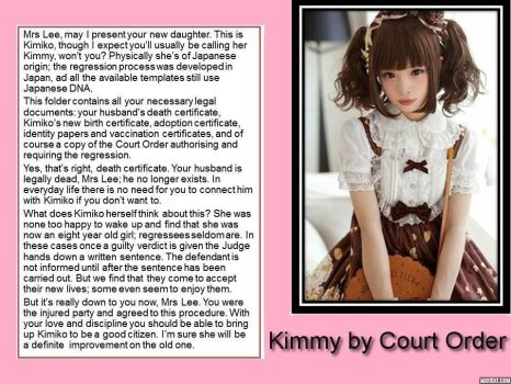 Kimmy by Court Order (TG/AR) by p-l-richards