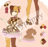 Adopt Auction - Checkerboard Cookie (CLOSED) by Sunnypoppy