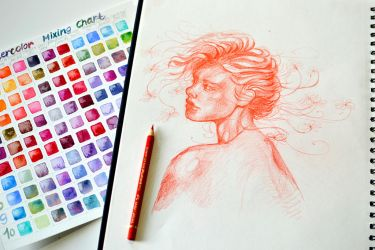 Drawing every day by jane-beata