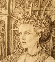 The Queen -detail by AlexndraMirica